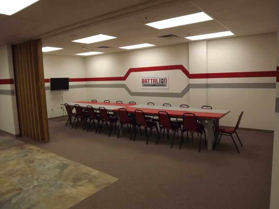 Battalion Airsoft Arean Hosts Parties in our private party room